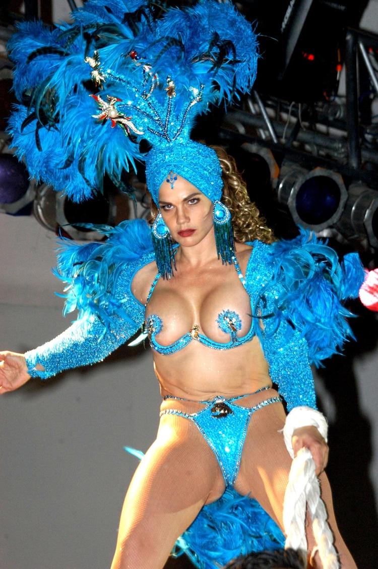 "Niurka durante su show de ""Aventurera""FOTO: Octavio Zaldivar/CUARTOSCURO.COM"