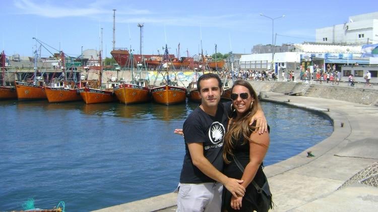 Juan Pablo y Cecilia, en la época en que abrieron la pareja