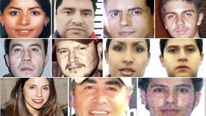 En la lista se destacan los hijos de los líderes de cárteles como el de Jalisco, Sinaloay los Arellano Félix, entre otros