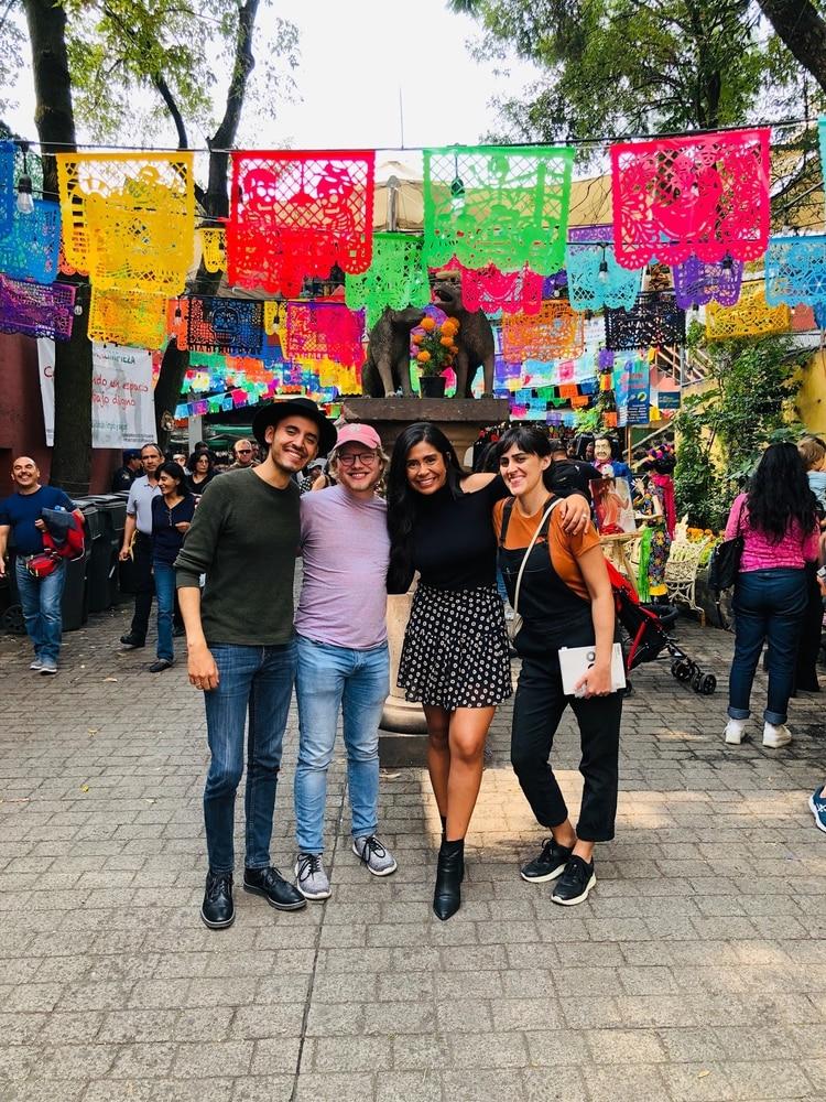 El equipo de Google recorrió calles mexicanas para inspirarse (Foto: Google)