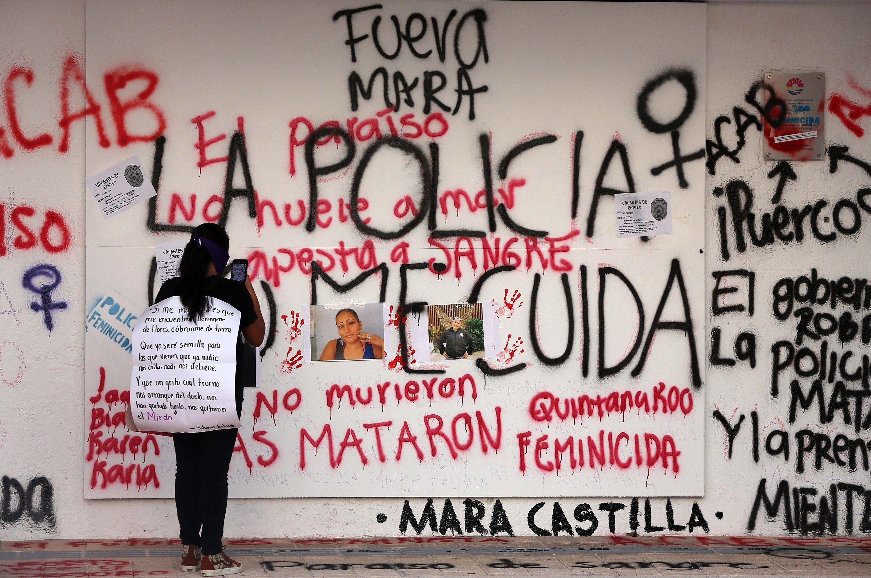 Victoria Esperanza Salazar, asesinada por policías el sábado pasado en Tulum, Quintana Roo (Foto: EFE/Alonso Cupul)