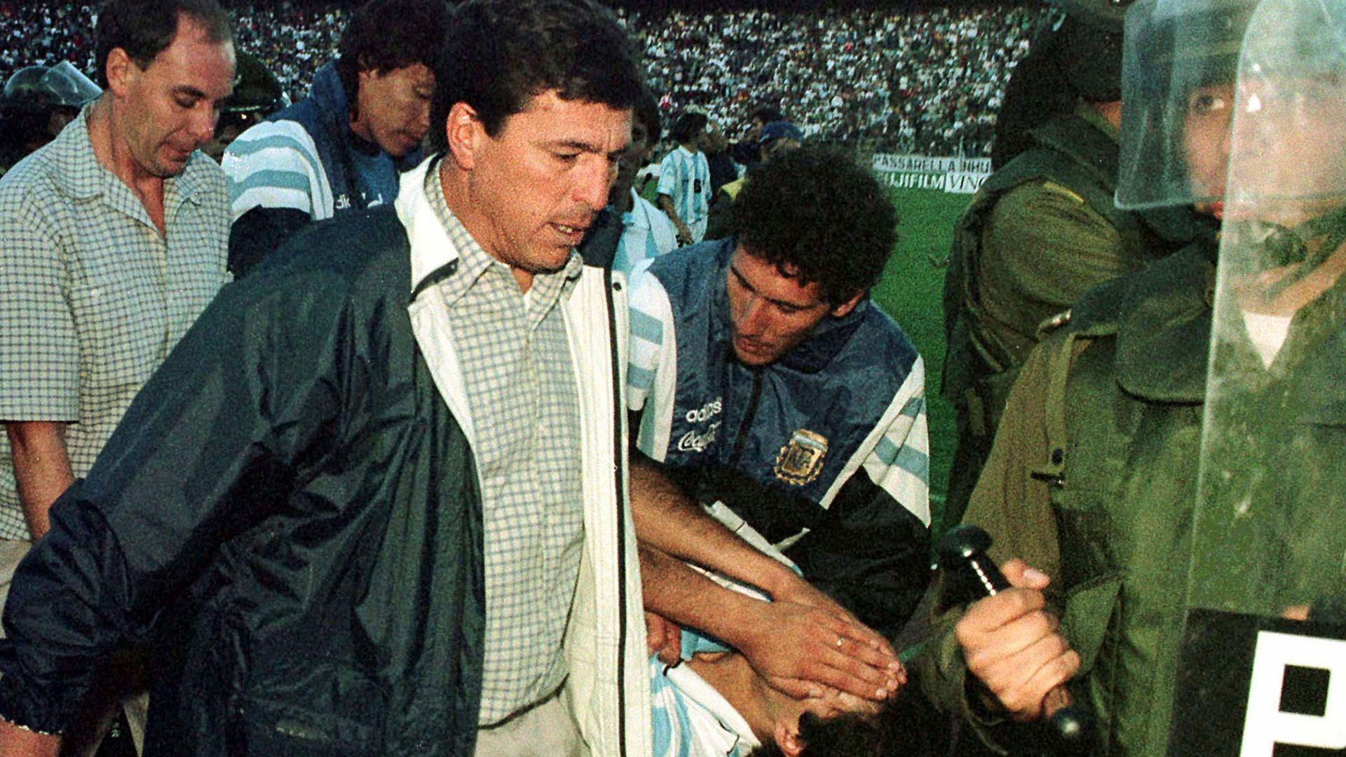 Bolivia vs Argentina Eliminatorias 1997