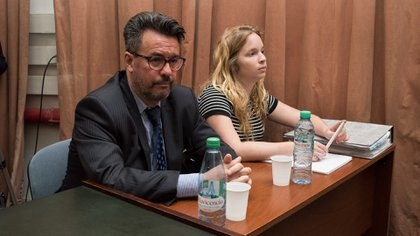 El ex funcionario Gustavo Simeonoff, también acusado (Adrián Escandar)