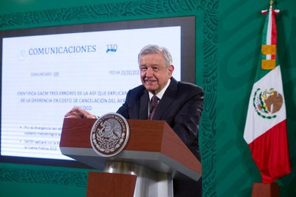 El presidente de México ha reiterado su apoyo a Félix Salgado Macedonio. Foto: Presidencia de México.