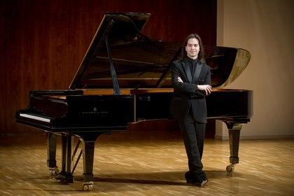Horacio Lavandera en el Auditorio Nacional de Música de Madrid