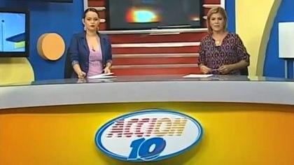 """""""Acción 10"""", noticiero del Canal 10 de Nicaragua"""