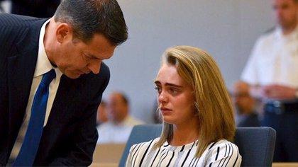 Los abogados de Michelle Carter plantearon distintas preguntas a la Corte Suprema para que acepte el caso de la joven (Foto: The Washington Post)