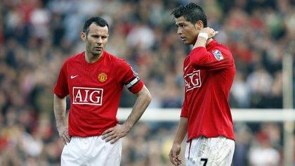 Ryan Giggs es una leyenda del Manchester United (Shutterstock)
