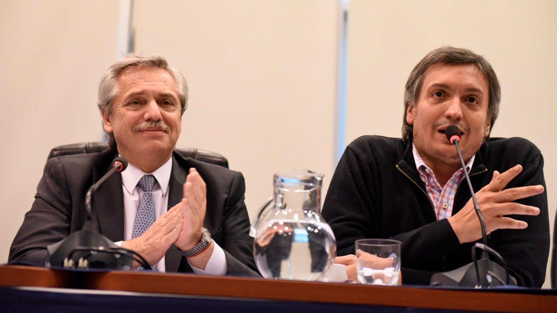 Alberto Fernández, Presidente de la Nación, Máximo Kirchner, diputado nacional