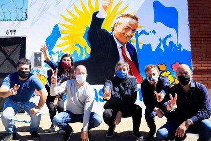 Máximo Kirchner estuvo con Insaurralde en Lomas de Zamora