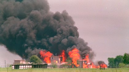 El edificio de madera se consumió en apenas treinta minutos (AP Photo/ Susan Weems, File)