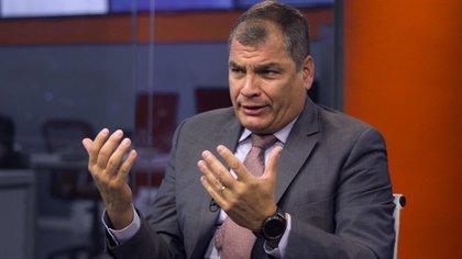 Rafael Correa, ex presidente de Ecuador (Esteban Andrés Cabrera)