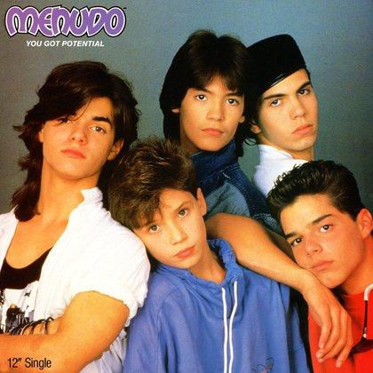 Ángelo, al centro, convivió en la banda con Sergio Blass y Ricky Martin (Foto: Archivo)