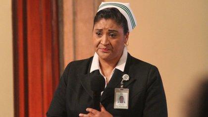 Fabiana Zepeda Arias, jefa de la División de Programas de Enfermería del Instituto Mexicano del Seguro Social (Foto: Cuartoscuro)