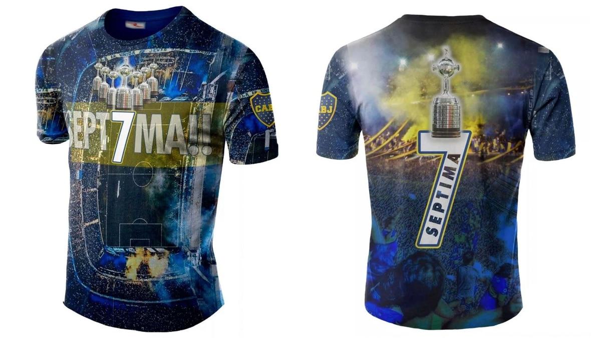 La polémica camiseta de Boca para celebrar