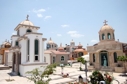 Este cementerio data de hace 46 años (FOTO: SAUL LOPEZ/CUARTOSCURO.COM)