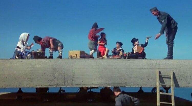 """Una escena de """"El Tambor de hojalata"""""""