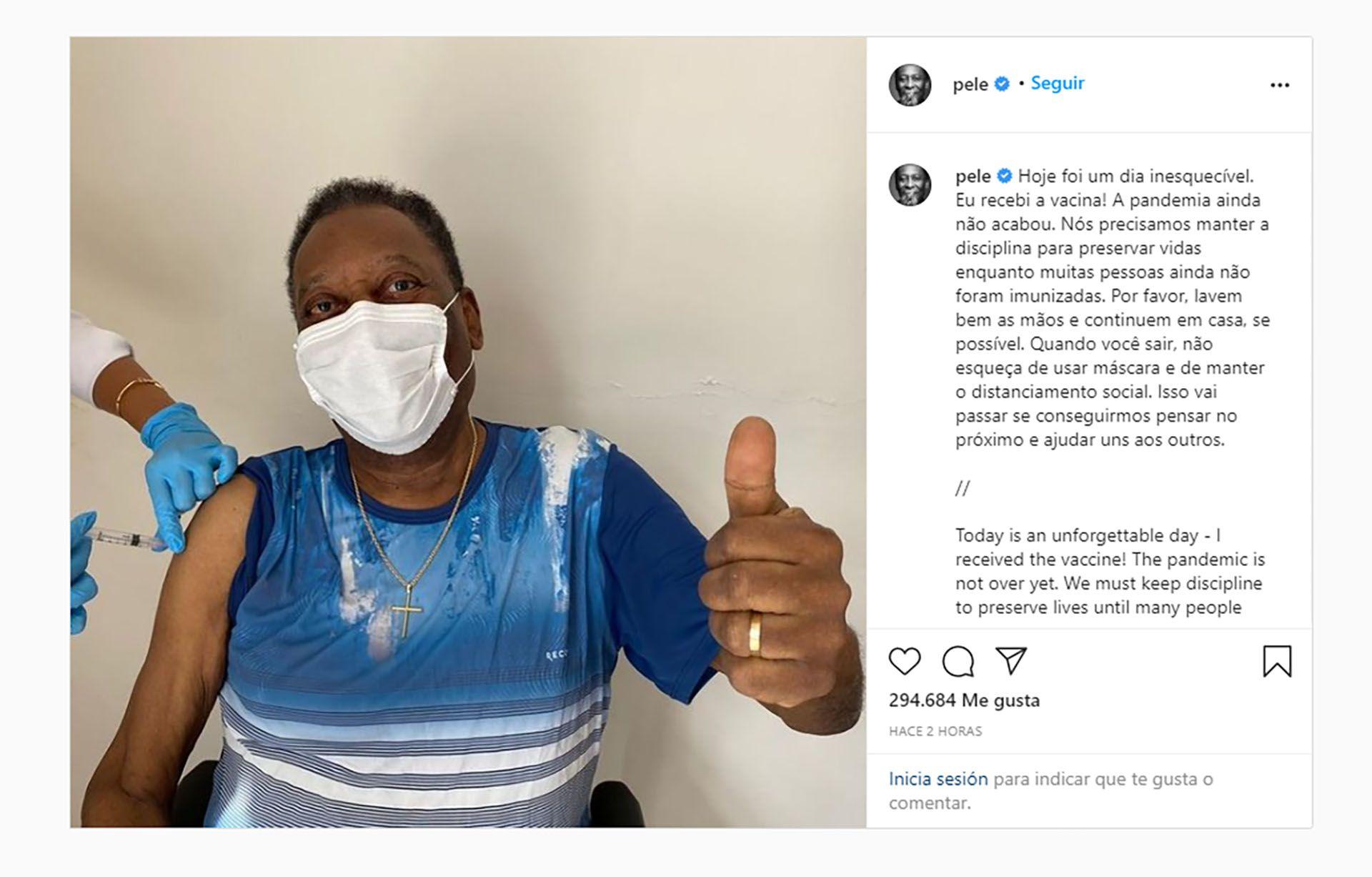 Pelé Instagram