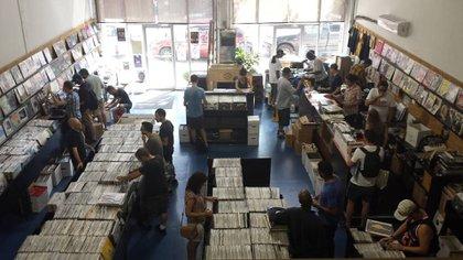 Disquería neoyorquina conocida como Academy Record Annex