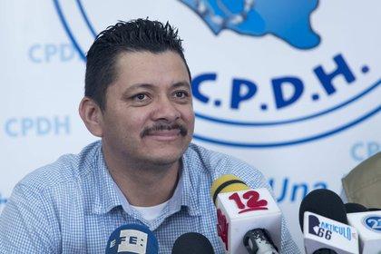 En la imagen, el líder campesino Medardo Mairena. EFE/Jorge Torres/Archivo