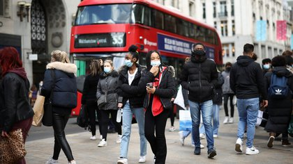 Reino Unido: preocupa la detección de la variante sudafricana