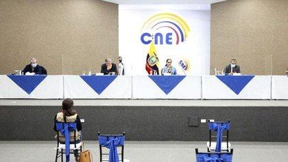 Rueda del Consejo Nacional Electoral de Ecuador