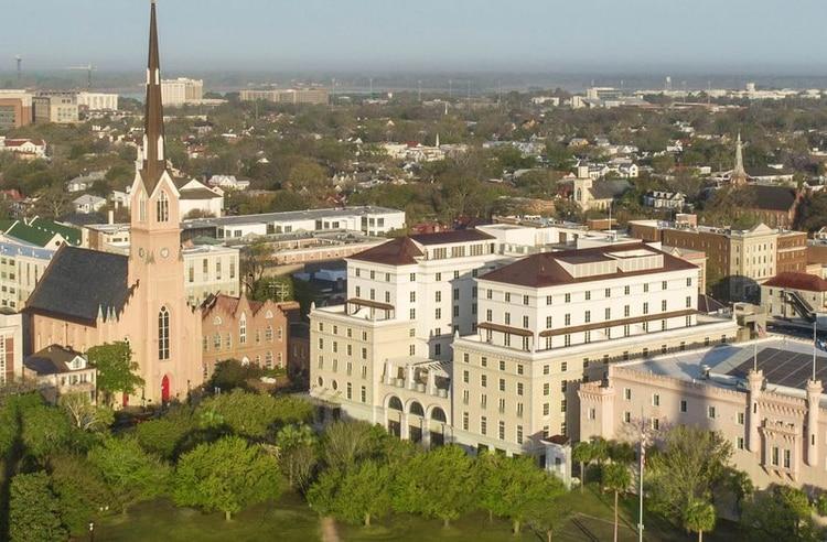 A punto de inaugurarse, el Hotel Bennett, en Charleston, Carolina del Sur, tiene una suite exclusiva.