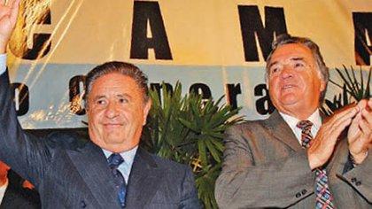 Eduardo Duhalde y Luis Barrionuevo
