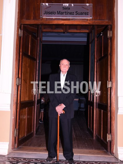 Fina estampa: José Martínez Suárez (Foto: Carrizo / Teleshow)