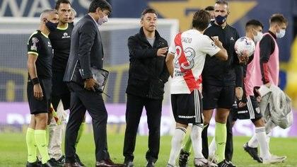 """Marcelo Gallardo se mostró orgulloso de la actuación de River ante Boca: """"Para nosotros, esto no fue una derrota"""""""