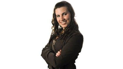 Anna Franco, autora del libro Brillarás