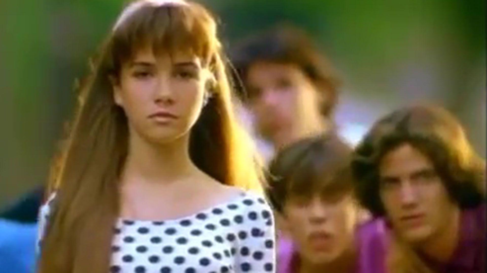 La publicidad de tampones que protagonizó Oreiro en los 90, cuando seguía siendo un tabú