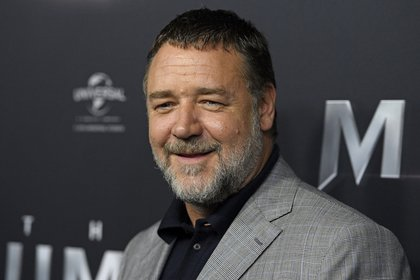 El actor neozelandés Russell Crowe. EFE/DAN HIMBRECHTS/Archivo