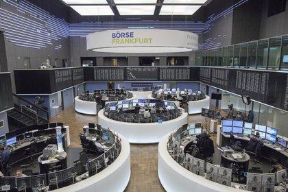 Vista general de la Bolsa de Frankfurt (Alemania).  EFE / Alexander Becher / Archivo