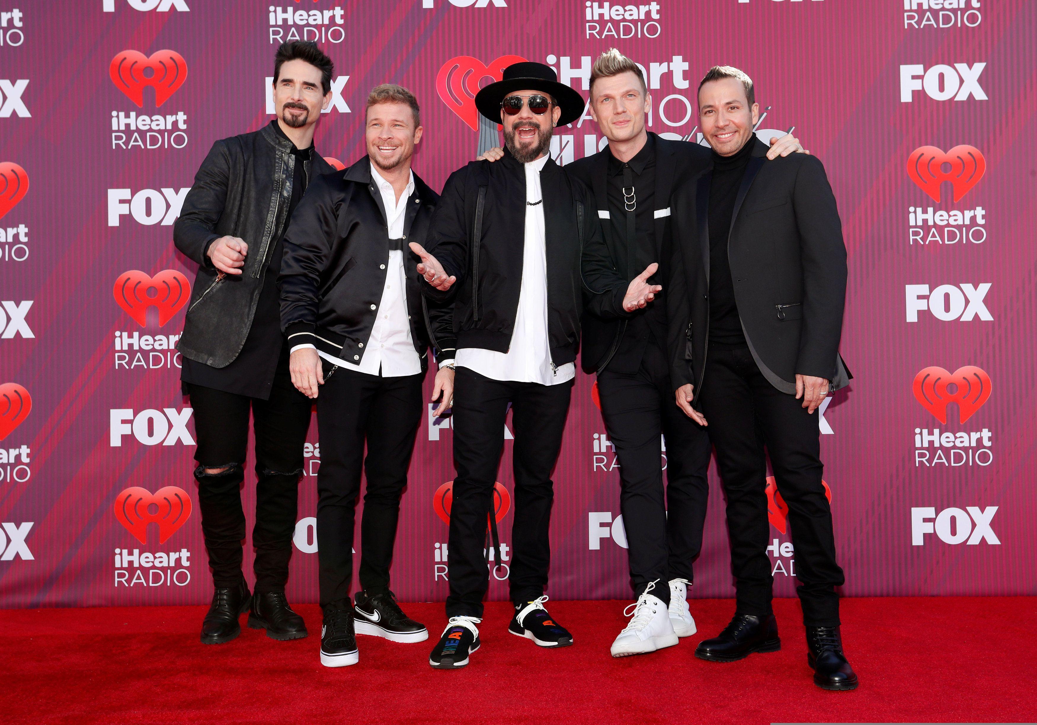 Backstreet Boys (REUTERS/Mario Anzuoni)