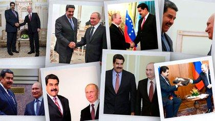 NIcolás Maduro y Vladimir Putin proyectan una nueva Venezuela en la cual Rusia podría quedarse con la mayoría de sus recursos naturales