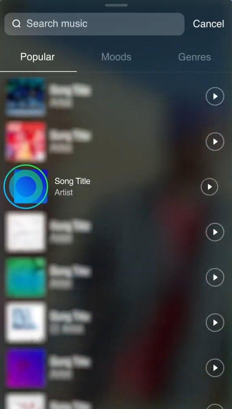 El usuario puede tomar fragmentos de canciones o de audio de videos para crear sus clips remixados, al mejor estilo Tik Tok.