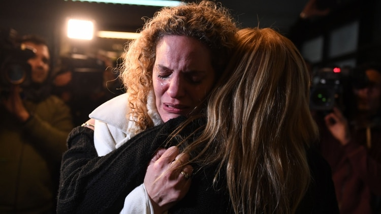 La familia de Soriano tras el fallo que condenó en 2019 a Lagostena (Maximiliano Luna)