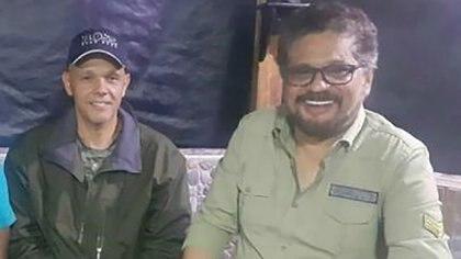 """Los ex comandantes de la extinta FARC, Hernán Darío Velásquez (""""El Paisa"""") y Luciano Marín Arango (""""Iván Márquez""""). """"Iván Márquez"""" y """"El Paisa"""" deberán presentarse a las JEP en marzo y hasta ahora no han cumplido ninguna citación"""