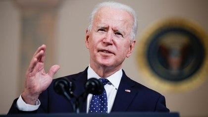 """Joe Biden habló sobre el veredicto contra el ex policía que asesinó a George Floyd: """"Esto puede ser un paso gigante en la marcha hacia la justicia"""""""