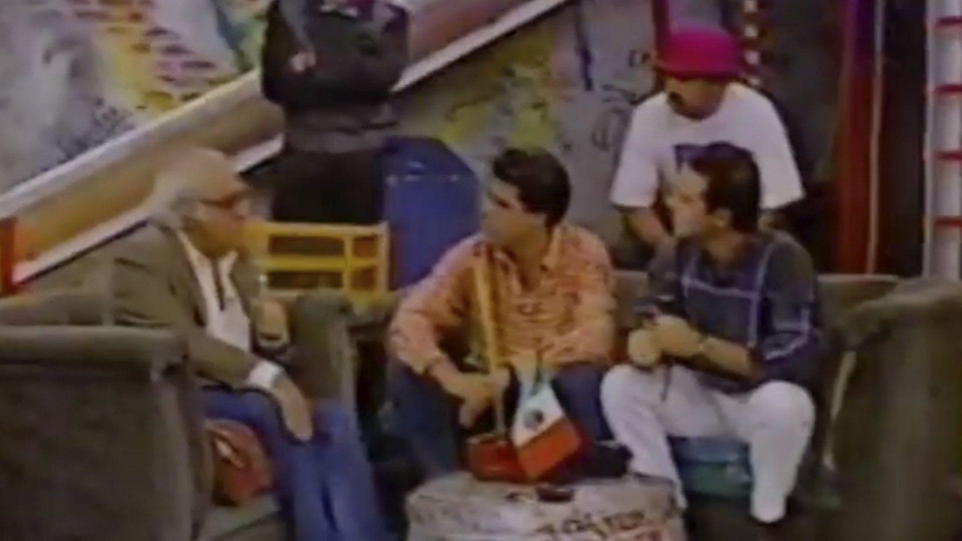Carlos Monsiváis en el programa el Calabozo (Foto: Captura de pantalla)