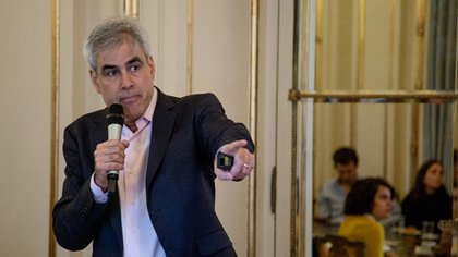 Jonathan Haidt, psicólogo estadounidense, en Infobae (Presidencia de la Nación)