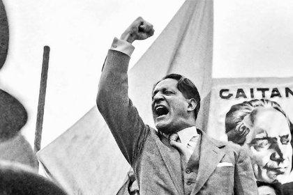 El caudillo liberal Jorge Eliécer Gaitán era el favorito para ganar la presidencia de Colombia, se daba por hecho su victoria.
