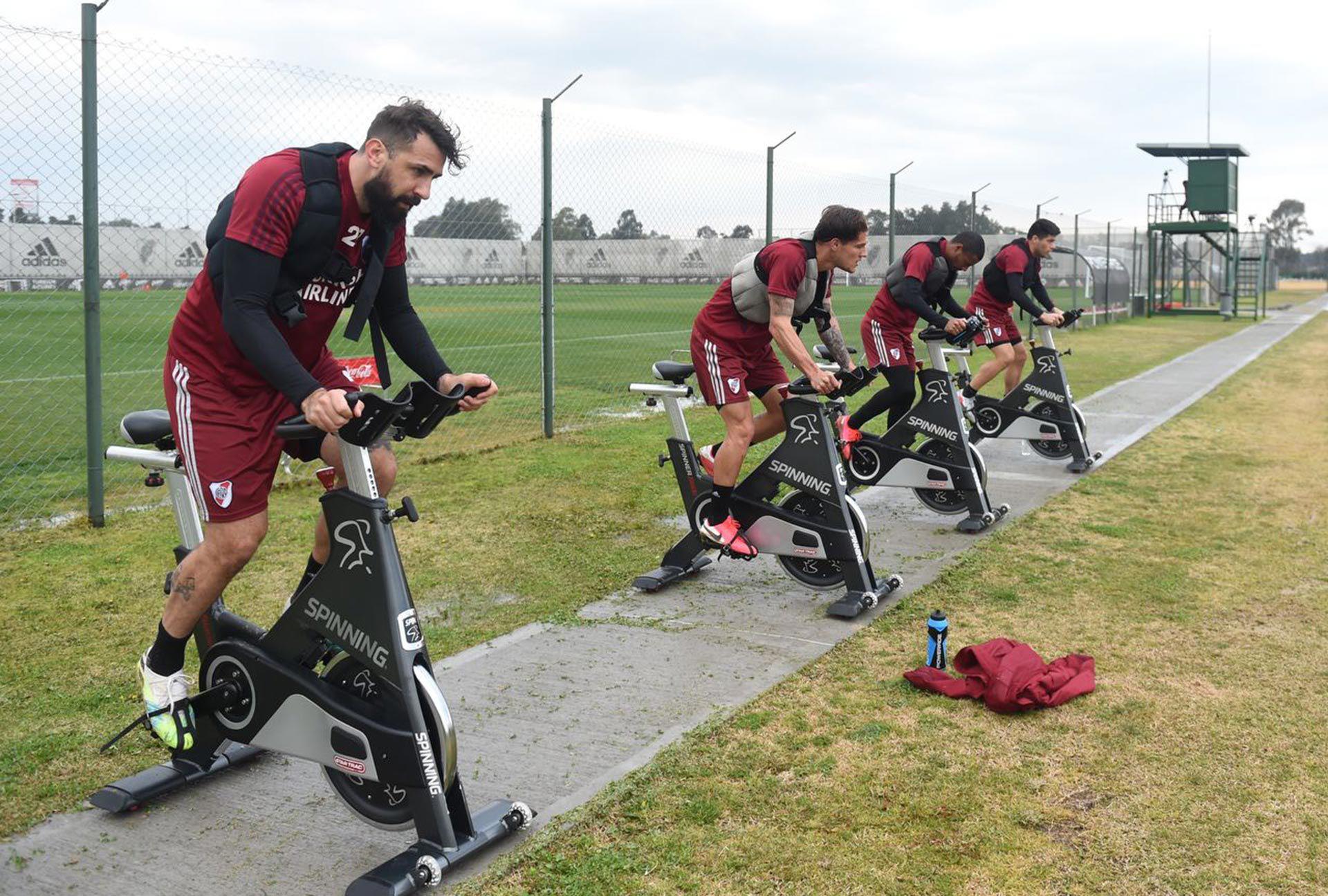 entrenamiento River Plate SF