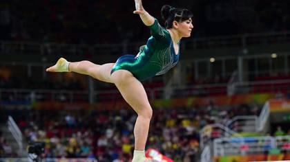 La gimnasta Alexa Morena es una de las atletas que se adhirieron al programa. (Foto: AFP)