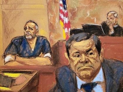 """En febrero pasado, """"El Chapo"""", líder del Cártel de Sinaloa, fue encontrado culpable de narcotráfico(Foto: Reuters)"""