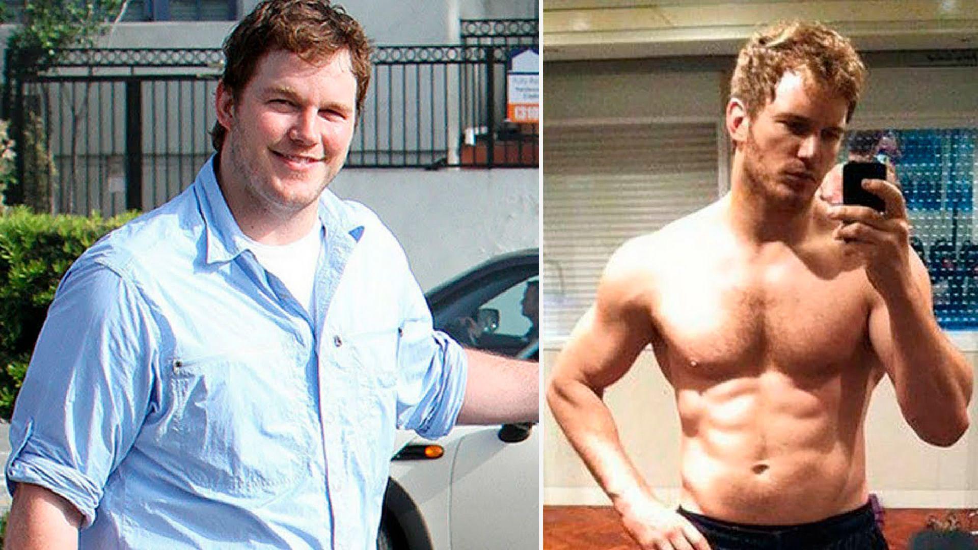 Chris Pratt perdió varios kilos