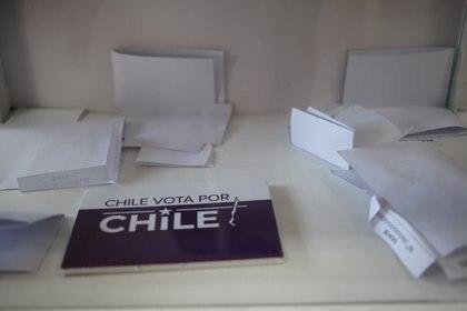 Material para el plebiscito del 25 de octubre en Chile (AILEN DÍAZ /AGENCIA UNO)