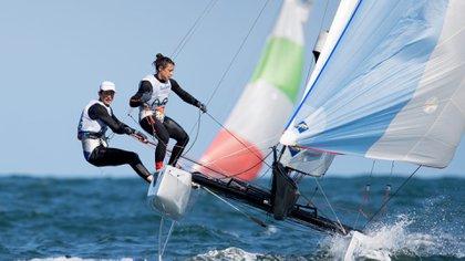 Santiago Lange y Cecilia Carranza hicieron historia en los Juegos Olimpicos de Rio 2016