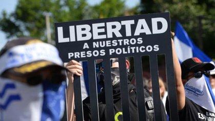 La libertad de unos 600 presos políticos es una demanda fuerte de amplios sectores de la población nicaragüense. Cortesía La Prensa/Nicaragua